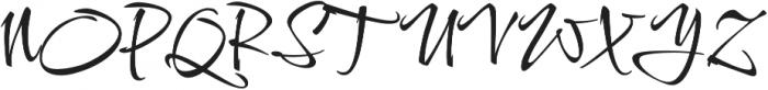 Comforter otf (400) Font UPPERCASE