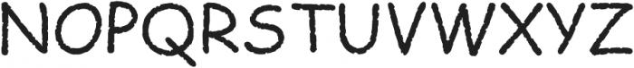 Comic Papyrus ttf (400) Font UPPERCASE