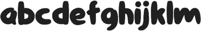 Comiccomoc otf (400) Font LOWERCASE