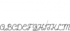 Coming Home Bold otf (700) Font UPPERCASE