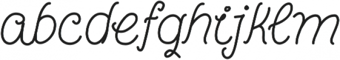 Coming Home Bold otf (700) Font LOWERCASE