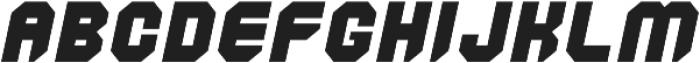 Commander Edge otf (400) Font LOWERCASE
