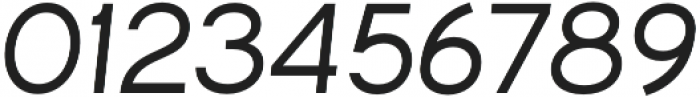 Commeria Sans Italics Bold otf (700) Font OTHER CHARS