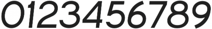 Commeria Sans Italics UltraBold otf (700) Font OTHER CHARS