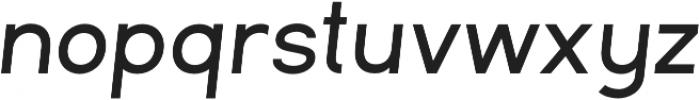 Commeria Sans Italics UltraBold otf (700) Font LOWERCASE