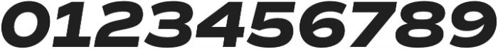 Commuters Sans ExtraBold Italic otf (700) Font OTHER CHARS