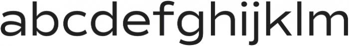 Commuters Sans otf (400) Font LOWERCASE