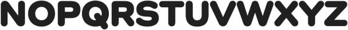 Como Heavy otf (800) Font UPPERCASE