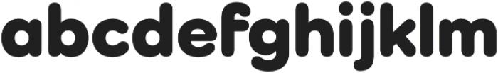 Como Heavy otf (800) Font LOWERCASE