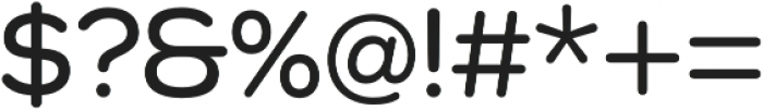 Como SemiBold otf (600) Font OTHER CHARS