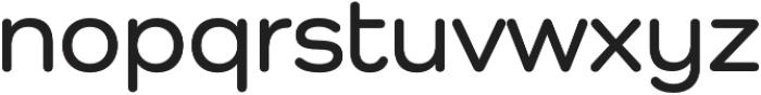 Como SemiBold otf (600) Font LOWERCASE