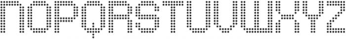Comodot Round Bottom otf (400) Font UPPERCASE