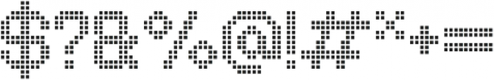 Comodot Square Bottom otf (400) Font OTHER CHARS