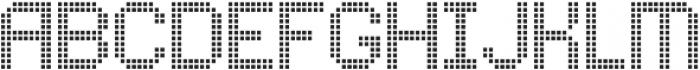 Comodot Square Bottom otf (400) Font UPPERCASE