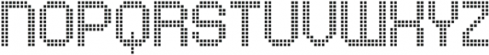 Comodot Square Top otf (400) Font LOWERCASE