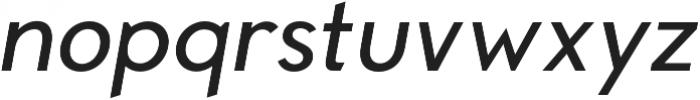 Compass Rose CPC Medium Italic otf (500) Font LOWERCASE