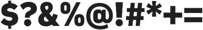 Compasse ExtraBold otf (700) Font OTHER CHARS