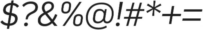 Compasse Light Italic otf (300) Font OTHER CHARS