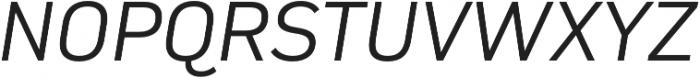 Compasse Light Italic otf (300) Font UPPERCASE