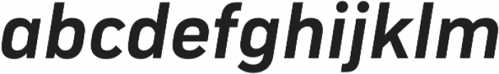 Compasse otf (700) Font LOWERCASE