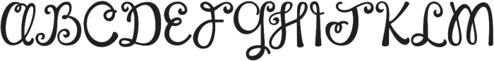 Complete in Him ttf (400) Font UPPERCASE