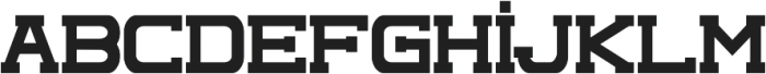 Complex otf (400) Font LOWERCASE