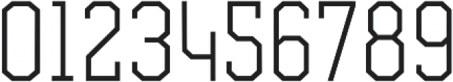 Comply Slab Light otf (300) Font OTHER CHARS