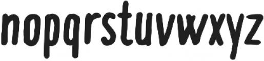 Compotes Citro Bold otf (700) Font LOWERCASE