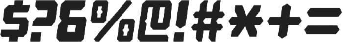 Computechnodigitronic Italic otf (400) Font OTHER CHARS