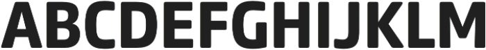Comspot Basic otf (700) Font UPPERCASE