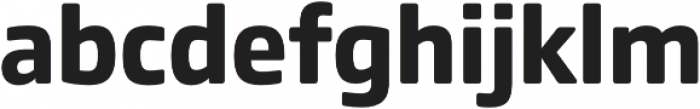Comspot Basic otf (700) Font LOWERCASE