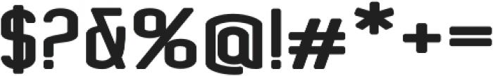Concepts Sans Serif Bold Regular otf (700) Font OTHER CHARS