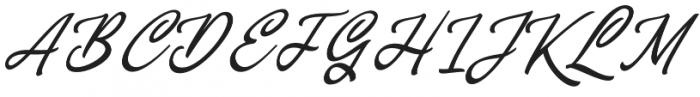 Concepts Script Regular otf (400) Font UPPERCASE
