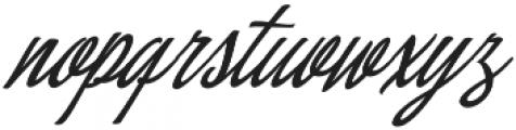 Concepts Script Regular otf (400) Font LOWERCASE