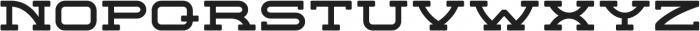 Concordia Regular otf (400) Font UPPERCASE