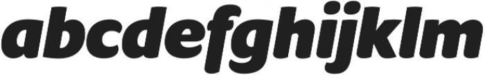 Condell Bio Black-Italic otf (900) Font LOWERCASE
