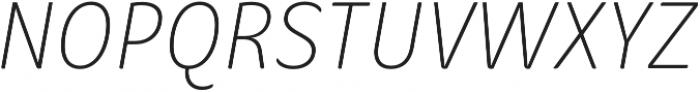 Condell Bio Light-Italic otf (300) Font UPPERCASE