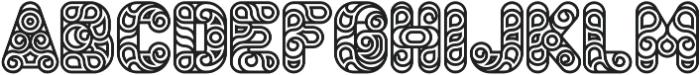 Conello Bold otf (700) Font UPPERCASE
