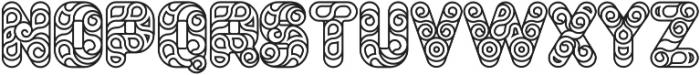 Conello Medium otf (500) Font UPPERCASE