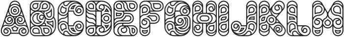 Conello Medium otf (500) Font LOWERCASE