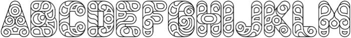 Conello Thin otf (100) Font UPPERCASE
