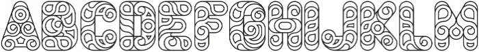 Conello Thin otf (100) Font LOWERCASE