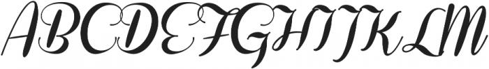Coneria Script Fat ttf (800) Font UPPERCASE