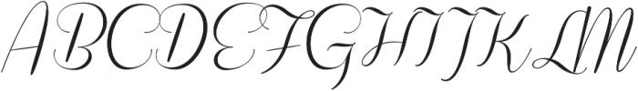 Coneria Script Light ttf (300) Font UPPERCASE