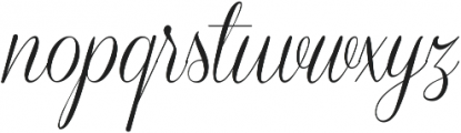 Coneria Script Light ttf (300) Font LOWERCASE