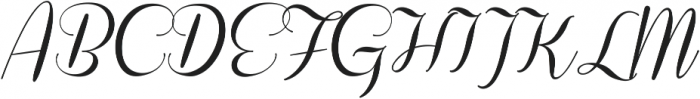 Coneria Script Medium ttf (500) Font UPPERCASE