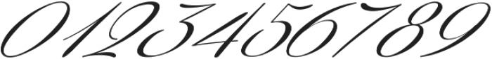Coneria Script Slanted Light ttf (300) Font OTHER CHARS