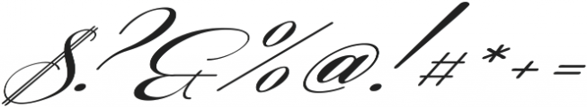 Coneria Script Slanted Medium ttf (500) Font OTHER CHARS