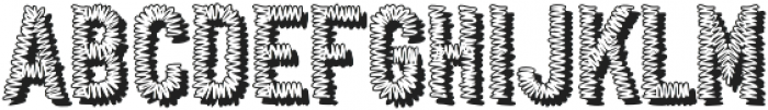 Conference Call BH DropTwo otf (400) Font UPPERCASE
