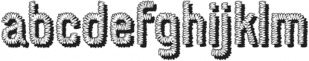 Conference Call BH otf (400) Font LOWERCASE